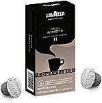 60-Ct Lavazza Ristretto Noble Dark Roast Coffee Capsules $22.75 & More