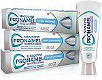 Amazon Prime: 3-Pk 4-oz Sensodyne Pronamel Gentle Whitening Toothpaste $8.75 (YMMV) & More