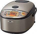 Zojirushi NP-HCC10 5.5-Cup Induction Heating Rice Cooker & Warmer $234 + $40 Kohls Cash + $11 Rewards