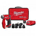 Milwaukee M12 Installation 3/8 in. Drill Driver Kit + Ratchet $199