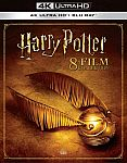 Harry Potter Collection [4K Ultra HD Blu-ray/Blu-ray] $65