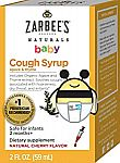 2 Oz Zarbee's Naturals Baby Cough Syrup $3.86