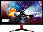 """Acer Nitro VG272 Xbmiipx 27"""" FHD 240Hz IPS AMD Radeon FreeSync and G-SYNC Compatible Gaming Monitor $295 and many more"""