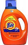 Amazon Locker Offer: 64 Loads Tide Liquid Laundry Detergent Soap $1.97 (YMMV)