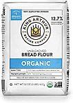 12-Pack 2lbs King Arthur Organic Unbleached Bread Flour $16.05