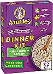 8-Packs Annie's One-Pot Pasta, White Cheddar Broccoli Mac with Hidden Veggies $6 (YMMV) or $10