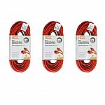 3-Pack HDX 50 ft. 16/3 Light-Duty Indoor/Outdoor Extension Cord $16.33 & more