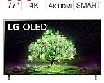 """LG 77"""" A1 Series 4K UHD OLED TV + 3-YR Protection Plan $2,699 + Get $270 Costco Card"""