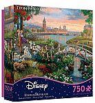 750-Pc Ceaco Thomas Kinkade Disney Dreams 101 Dalmatians Jigsaw Puzzle $6.75