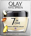 Olay Total Effects 7 in 1 Night Cream $12.75