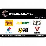 Target - 15% Off Select eGift Card (Subway, iHop, Outback and more) (Today 10/14 only)