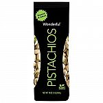 16oz Wonderful Pistachios, Roasted and Salted $5
