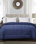 Blue Ridge Reversible Down Alternative Comforter (Twin, Full, Queen, King) $20