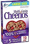 12-oz Multi Grain Cheerios Breakfast Cereal $1.90