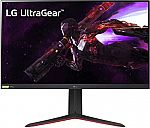 """LG 32"""" UltraGear QHD Nano IPS 165Hz 1ms HDR Monitor with G-SYNC Compatibility $479"""