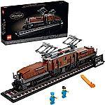 LEGO Crocodile Locomotive 10277 Train Building Kit (1,271 piece) $80