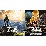 The Legend of Zelda Breath of the Wild and Expansion Pass Bundle $47 (orig. $80)
