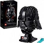 LEGO Star Wars Darth Vader Helmet 75304 Collectible (834 Pieces) $56