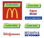 Chase Rewards Offer - 20% back at MacDonald, Exxon/Mobile, Walgreens and BedBathBeyond (YMMV - for select Chase members)