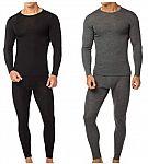 Men's Premium Cotton Fleece Thermal Sets 2-Pack $29.99