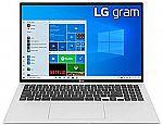 """LG Gram Thin & Light 16"""" WQXGA Laptop (i7-1165G7 16GB 1TB SSD) $1431.94"""