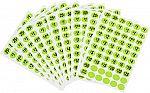 600-Count Hillman Pre-Priced Garage Sale Labels (Green) $1.07