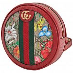 GUCCI Ophidia GG Flora Mini Backpack In Red $599.99