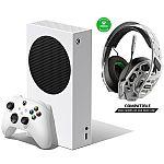 Xbox Series S Console Bundle w/ RIG 500 PRO EX White Headset $380