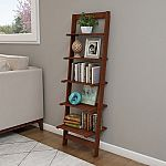 Hastings Home - Open Ladder 5-Tiered Bookshelf (3 Color Choices) $29.99