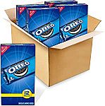 OREO Chocolate Sandwich Cookies 48- 2oz packs $14 and more