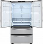 LG 27 cu. ft. 4-Door French Door Refrigerator $1550