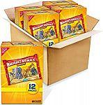 Barnum's Original Animal Crackers, 4 Boxes of 12 Snack Packs (48 Total Snack Packs) $12