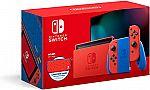 Nintendo Switch Mario Red & Blue Edition $299.99