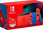 Nintendo Switch Mario Red and Blue Edition $299