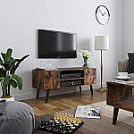VASAGLE Retro TV Stand Storage Console $58
