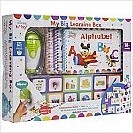 Disney Baby: My Big Learning Box Set (3 Books, Touch & Talk Electronic Reader, 48 Flash Cards, Alphabet Poster) $35