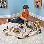 61-Piece KidKraft Bucket Top Construction Train Set $21.60 (orig. $56)
