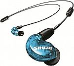 Shure SE215 Special Edition Wireless Sound Isolating Earphones (Blue) $59