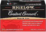 120-Ct Bigelow Constant Comment Black Tea Bags $9