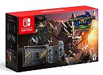 Nintendo Switch Console (Monster Hunter Rise Deluxe Edition) $370 (Pre-order)