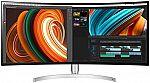 "LG 34BK95C-W 34"" UW-QHD 3440x1440 USB Type-C, VESA, FreeSync, Curved Nano IPS Monitor $579.99"