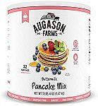 3 lbs 4 oz Augason Farms Buttermilk Pancake Mix $7.32