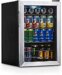 NewAir Beverage Refrigerator Cooler with 90 Can Capacity $197 and more