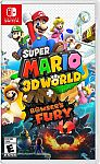 Super Mario 3D World + Bowser's Fury - Nintendo Switch $49.99