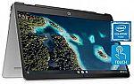 HP Chromebook x360 14a HD Touchscreen Laptop (N4020 4GB 32GB14a-ca0010nr) $249.99
