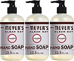 6-pack Mrs. Meyers Clean Day Liquid Hand Soap $14.90 and more