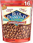 Blue Diamond Gluten Free Almonds (Smokehouse) 16-oz 5.32, 40-oz $12