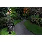 Home Depot lighting Sale - Outdoor Solar Lamp Post $69 (Reg $110) 5-light Chandelier $50 & more