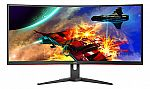 """AOC 34"""" LCD Curved Gaming Monitor $200"""