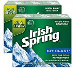 48-Ct Irish Spring Men's Deodorant Soap Bar (Icy Blast) $17